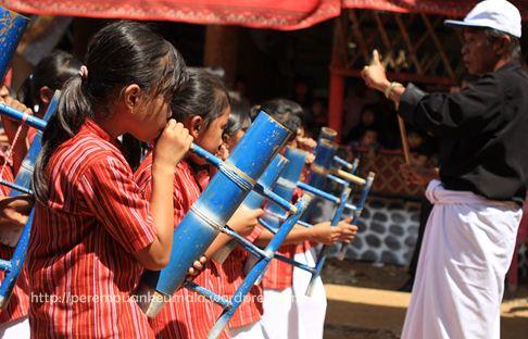 musik bambu toraja, pompang, tenun toraja, toraja melo