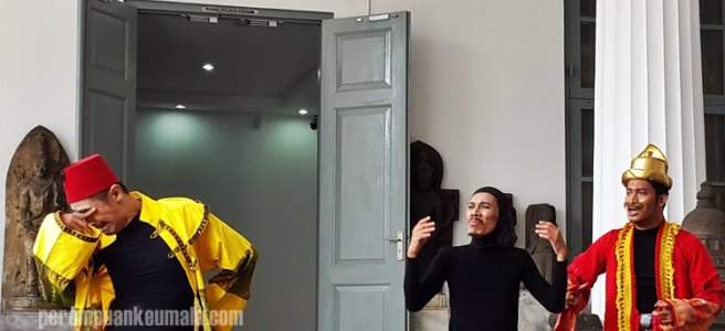 meriam secupak, museum nasional, turki di aceh, pentas dongeng teater koma